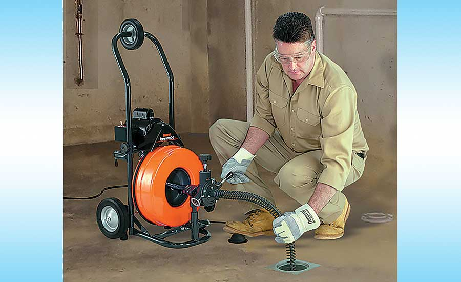 General Pipe Cleaners drain-cleaning machine