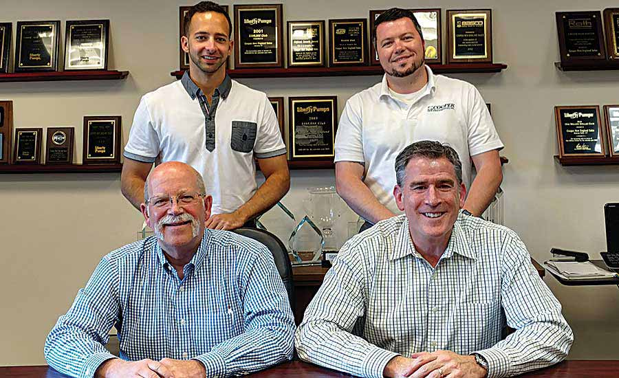 Cooper New England Sales team earns certification