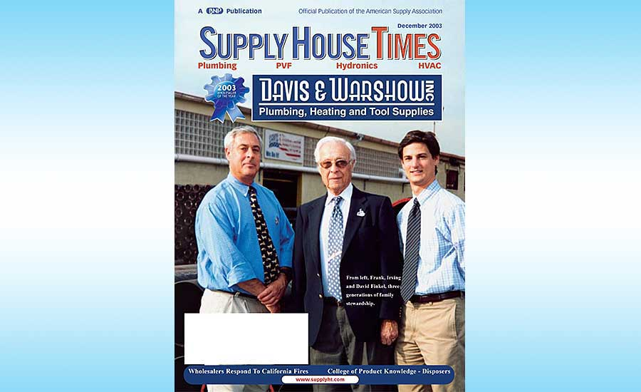 Remembering Irving Finkel 2017 06 12 Supply House Times