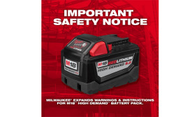 The expanded product warnings address situations that could lead to a battery pack failure and/or other safety hazards.