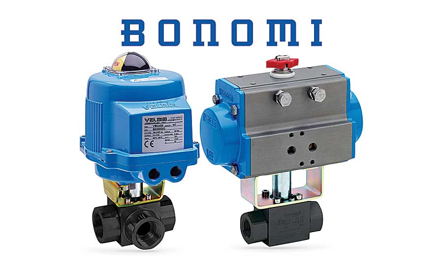 Bonomi North America high-pressure ball valves