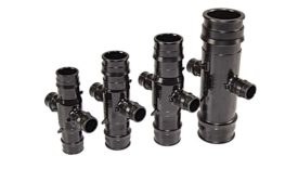 Uponor opposing-port tees
