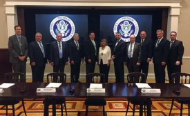 ASA member contingent meets with White House officials to discuss plumbing industry
