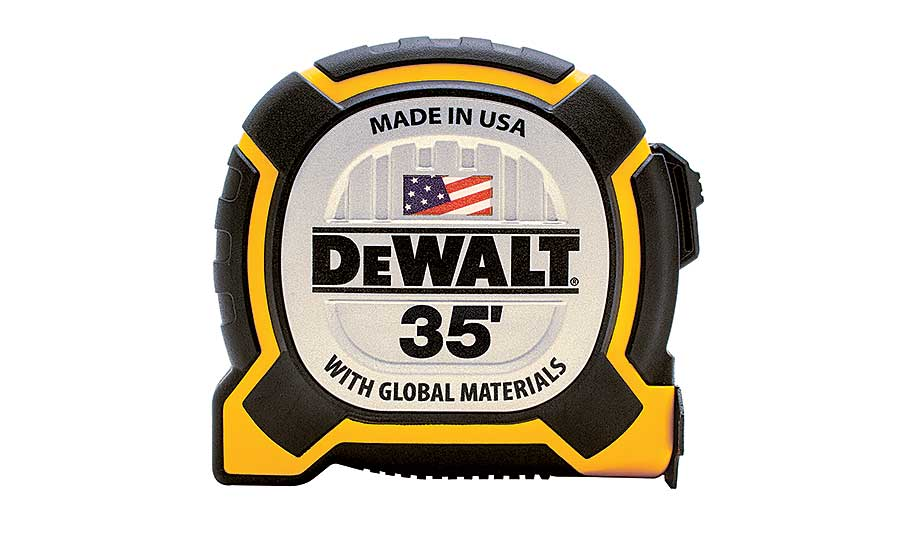 DEWALT tape measure