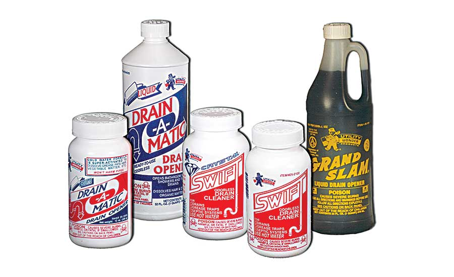 Utility Chemicals cleaners and openers