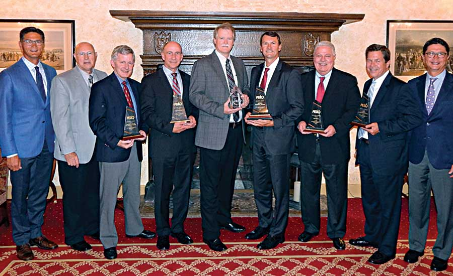 Gustave A. Larson Co. Partners in Excellence and Quality award winners
