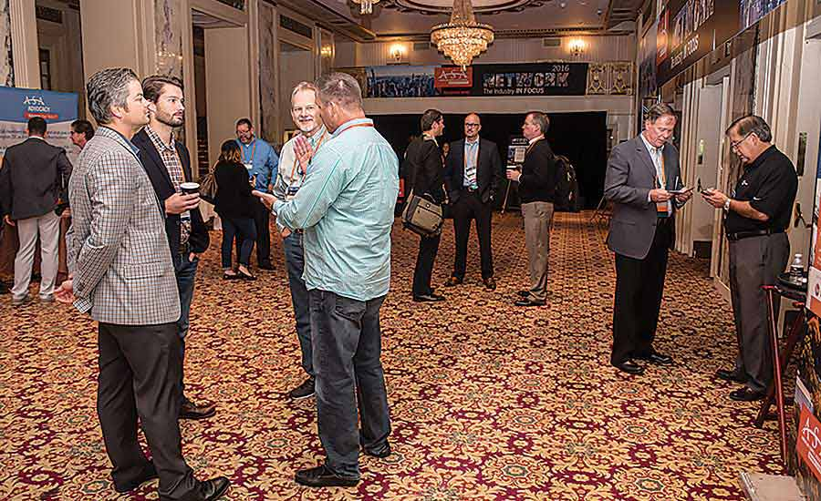 ASA NETWORK offers nonstop networking opportunities, including in the hallway
