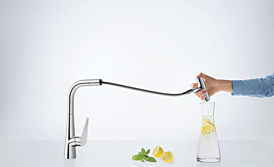 High-arc Kitchen Faucet