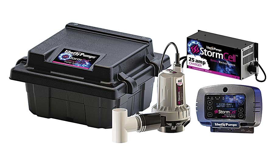 Liberty Pumps' StormCell battery back-up pumps