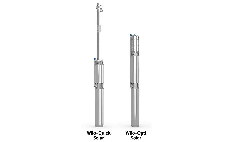 WILO USA solar borehole pumps