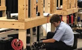 ASA sponsors SkillsUSA plumbing and HVACR competition