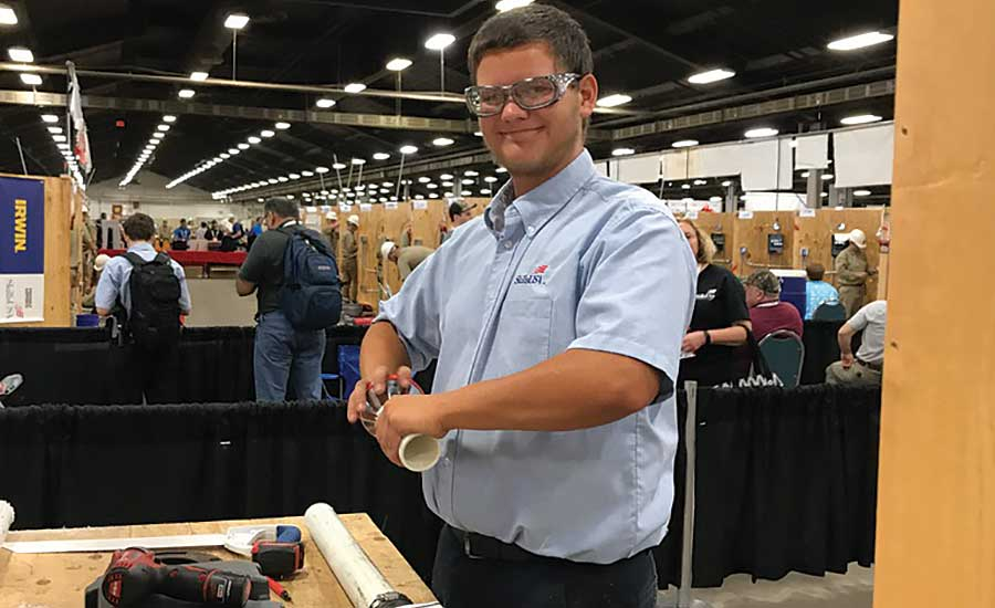 ASA sponsors SkillsUSA plumbing and HVACR competition