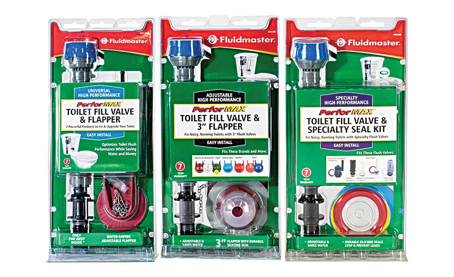 Fluidmaster toilet-repair kits