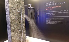 Delta Faucet shower column (KBIS Preview)