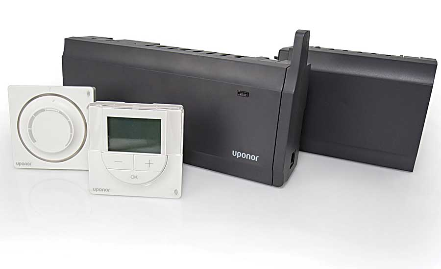 Uponor wireless climate control