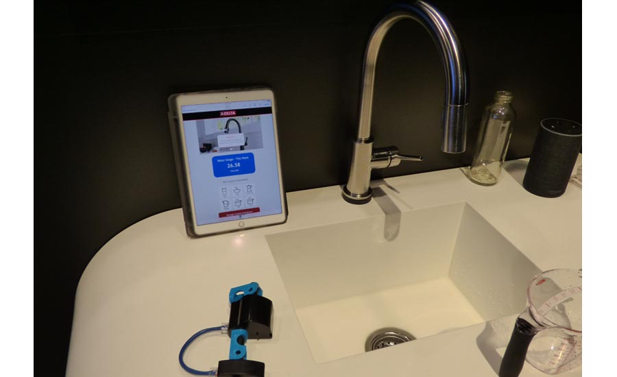 Delta Faucet currently is field-testing an Alexa voice-controlled faucet system