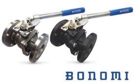 Bonomi full-port ball valves