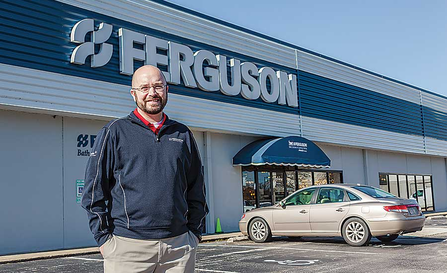 Nathan Smith is the branch manager at the Ferguson location in Raleigh