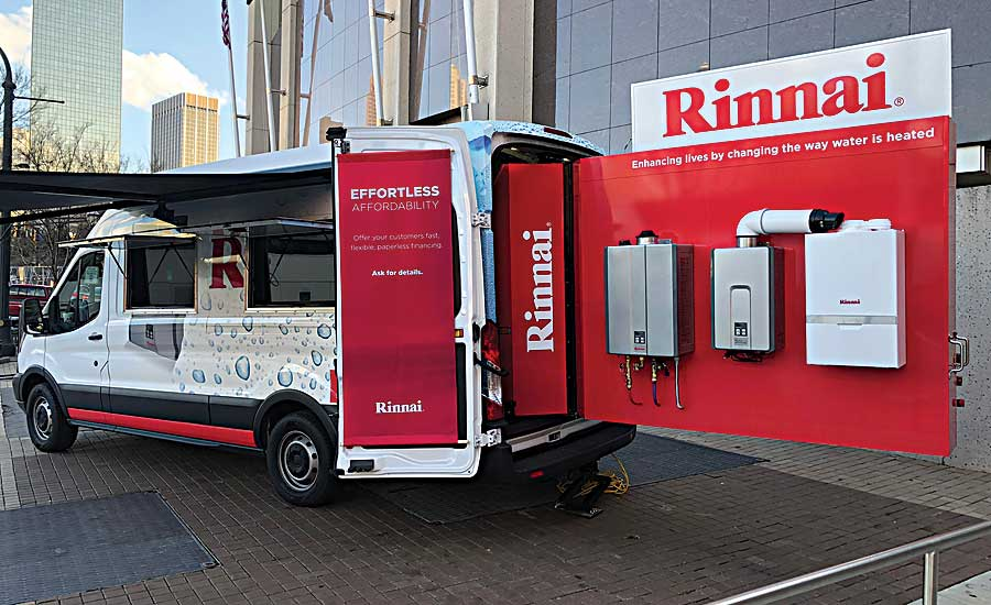 Try Rinnai tour runs through Sept. 21, 2018