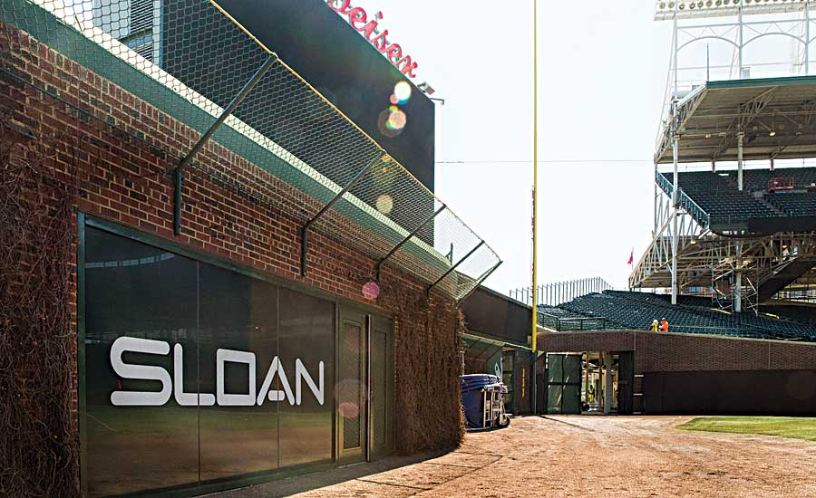 Sloan expands presence at Wrigley Field