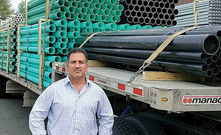 Chris Barone of United Pipe & Steel