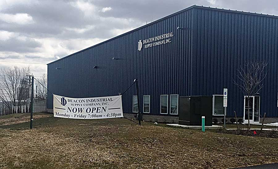 Deacon Industrial's new branch in Marcus Hook
