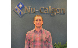 Brendan Barash is the associate product manager of Nu-Calgon.