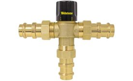 Webstone thermostatic mixing valve