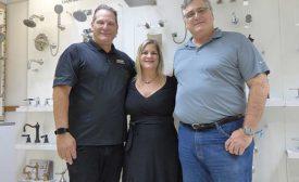 Ken Berke, Karen Sadler and Stuart Berke are the second generation of family ownership