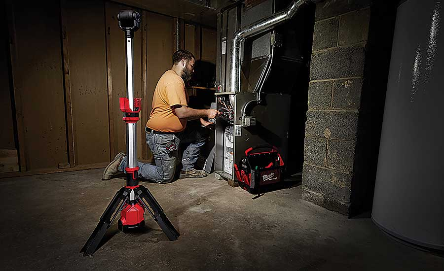 Milwaukee Tool light stand