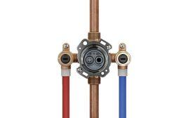 Gerber's Treysta rough-in valve system