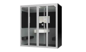 Cubicall phone booth product display