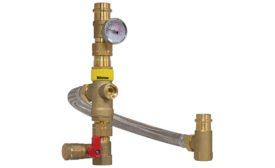 Webstone water-heater tempering valve