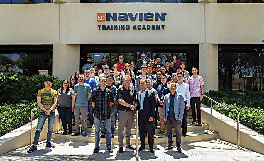 Navien secures leadership position