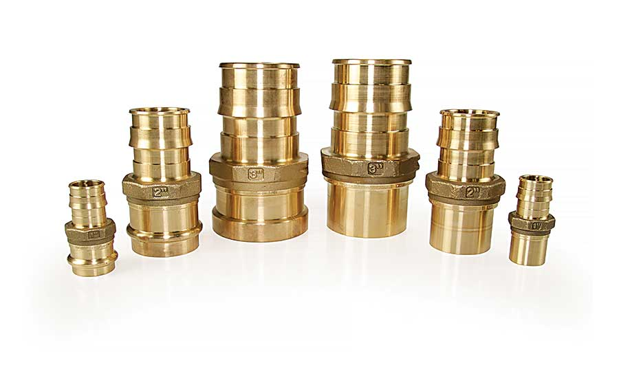 Uponor North America's ProPEX copper press adapters
