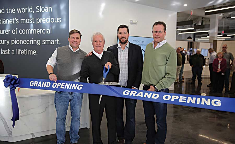 Sloan opens Charles s. Allen design center