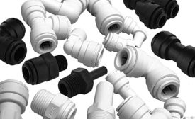 John Guest push-fit fittings and shutoff valves (AHR Expo Preview)