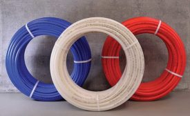Legend recyclable PE-RT potable water tubing (AHR Expo Preview)