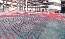 REHAU hydronic radiant heating and cooling systems (AHR Expo Preview)