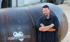 OK Pipe & Fittings Owner and President Gabe Hatfield