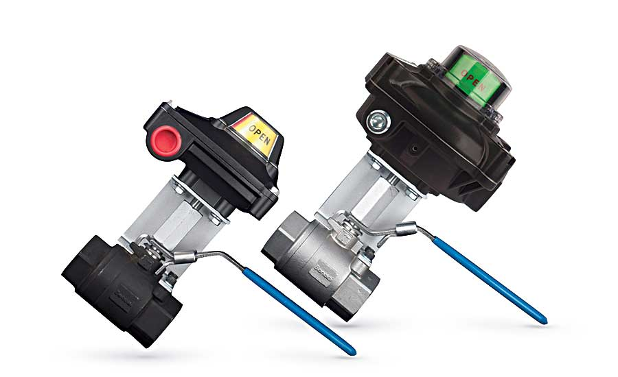 Bonomi North America ball valve/limit switch packages