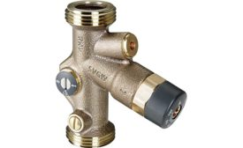 Viega recirculation balancing valve