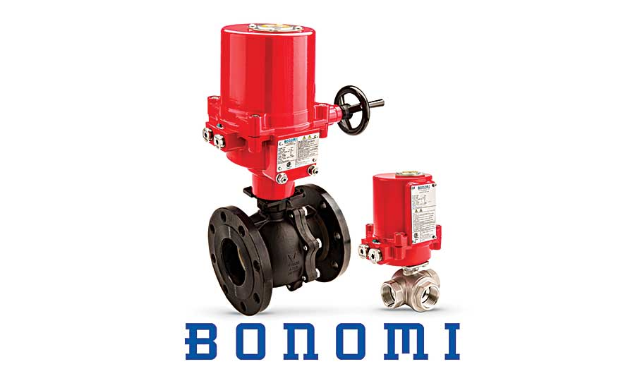 Bonomi North America explosion-proof electric actuators