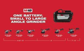 Milwaukee Tool cordless grinder
