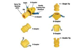 Bee Valve sprayer component system