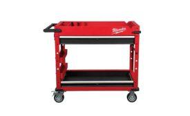 Milwaukee Tool steel work cart