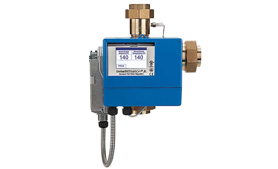Powers digital mixing valve