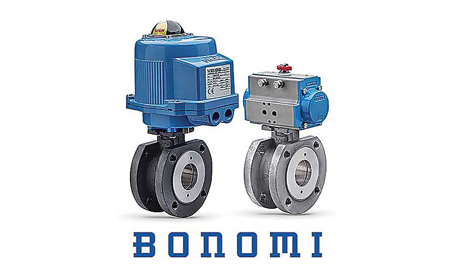 Bonomi North America wafer ball valve packages