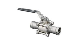 Viega three-piece ball valve