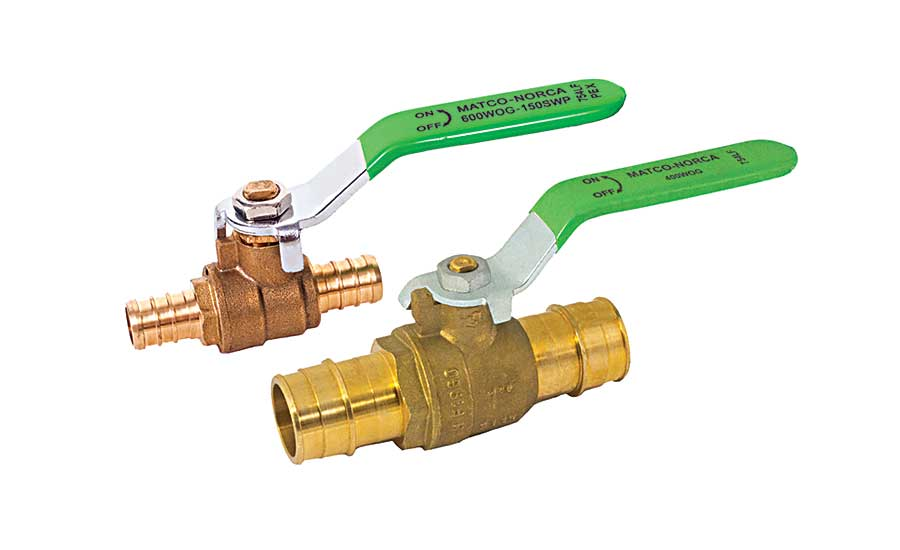 Matco-Norca PEX ball valves